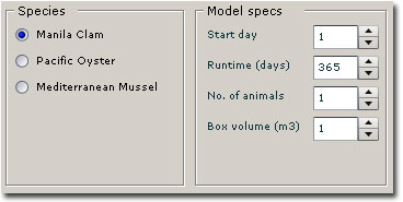 Winshell Species and Model Specs